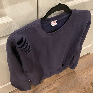 American Apparel Sweaters - Navy pullover